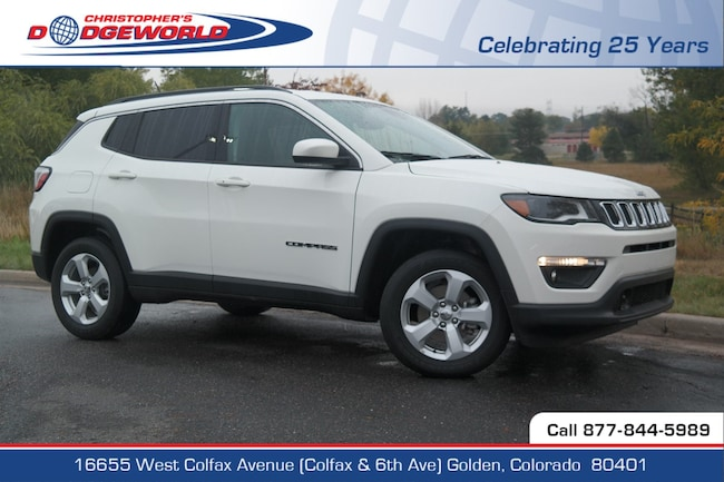 Used 2018 Jeep Compass Latitude 4x4 SUV Golden CO