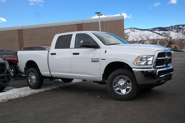 New  2018 Ram 2500 TRADESMAN CREW CAB 4X4 6'4 BOX Crew Cab Golden CO