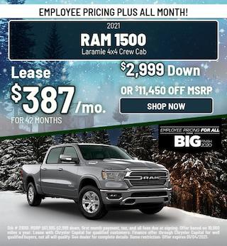 2021 Ram 1500 Laramie 4x4 Crew Cab