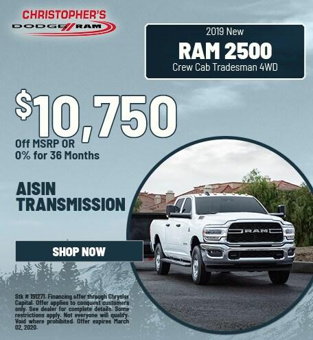 2020 Ram 2500 Tradesman