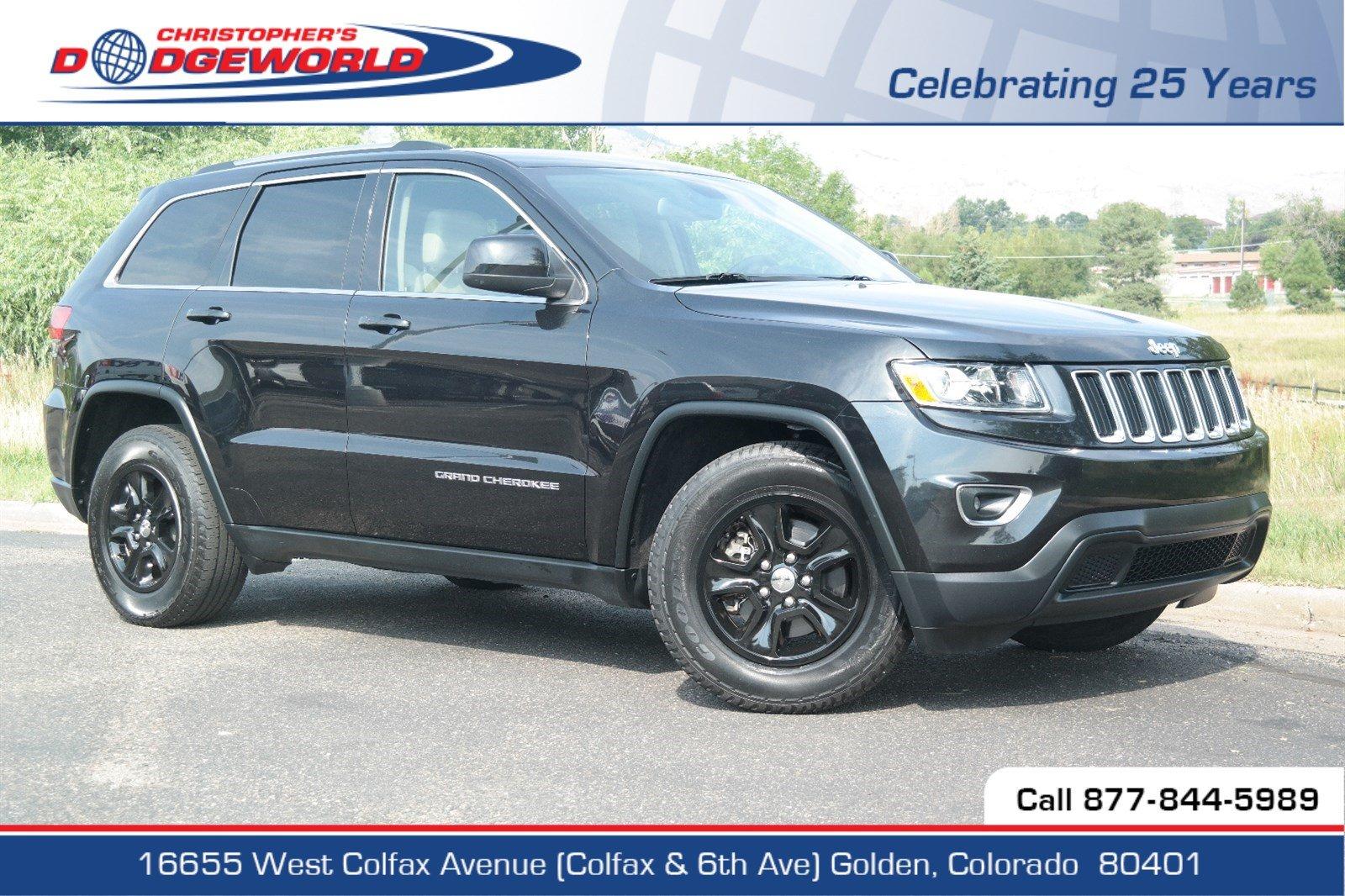 Certified 2015 Jeep Grand Cherokee Laredo SUV Golden CO