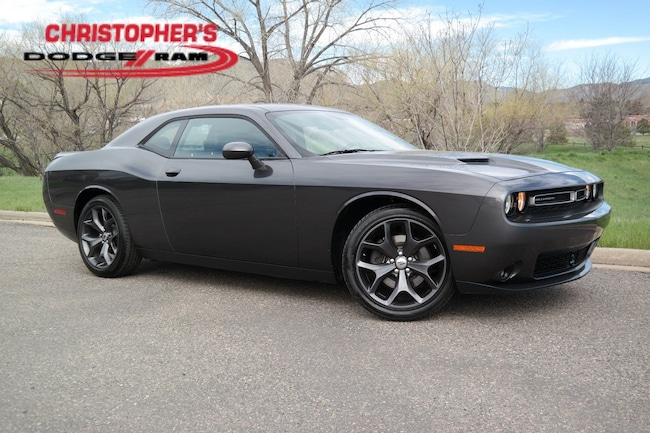 Used 2018 Dodge Challenger SXT Coupe Golden CO