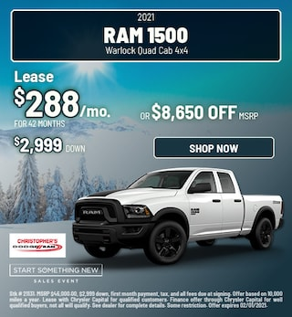 2021 Ram 1500 Warlock Quad Cab 4x4