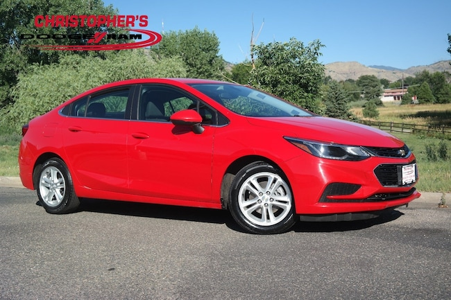 Used 2018 Chevrolet Cruze LT Auto Sedan Golden CO