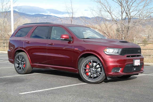 New  2018 Dodge Durango SRT AWD Sport Utility Golden CO