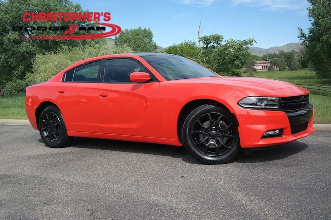 Used 2016 Dodge Charger SXT Sedan Golden CO