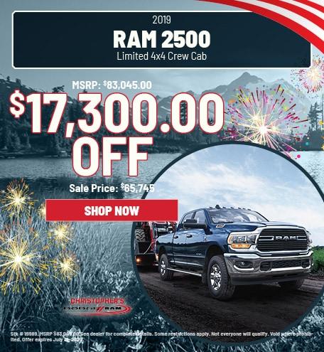 2019 RAM 2500 Limited 4x4 Crew Cab