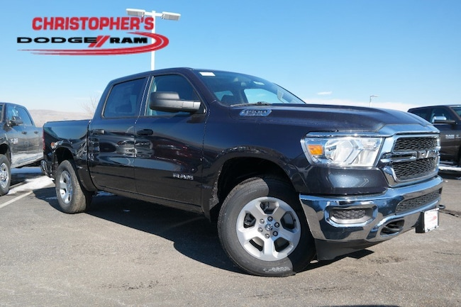 New  2019 Ram 1500 TRADESMAN CREW CAB 4X4 5'7 BOX Crew Cab Golden CO