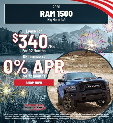 2020 RAM 1500 Big Horn 4x4