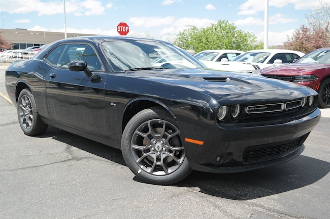 New  2018 Dodge Challenger GT ALL-WHEEL DRIVE Coupe Golden CO
