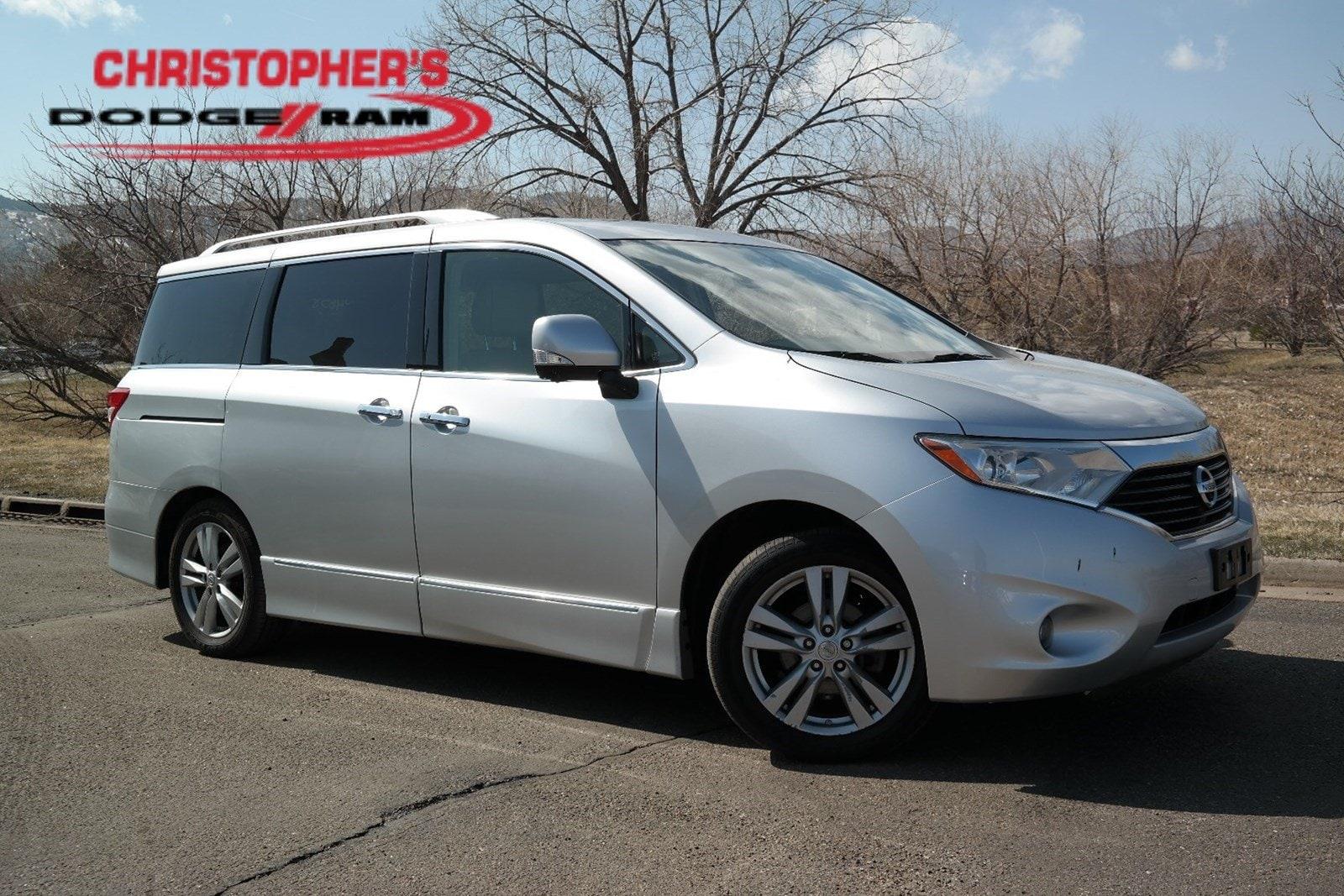 2015 Nissan Quest Platinum Van