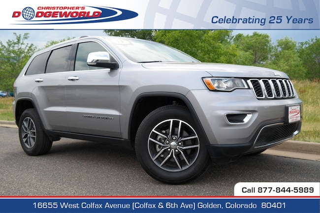 Used 2017 Jeep Grand Cherokee Limited 4x4 SUV Golden CO