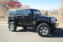 Used 2017 Jeep Wrangler JK Unlimited Sahara 4x4 SUV for sale in Golden, CO