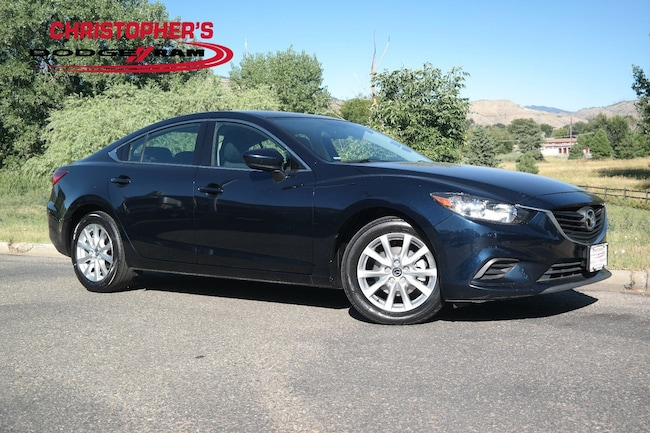 Used 2016 Mazda Mazda6 i Sport Sedan Golden CO