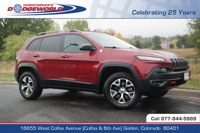 Used 2014 Jeep Cherokee Trailhawk 4x4 SUV Golden CO