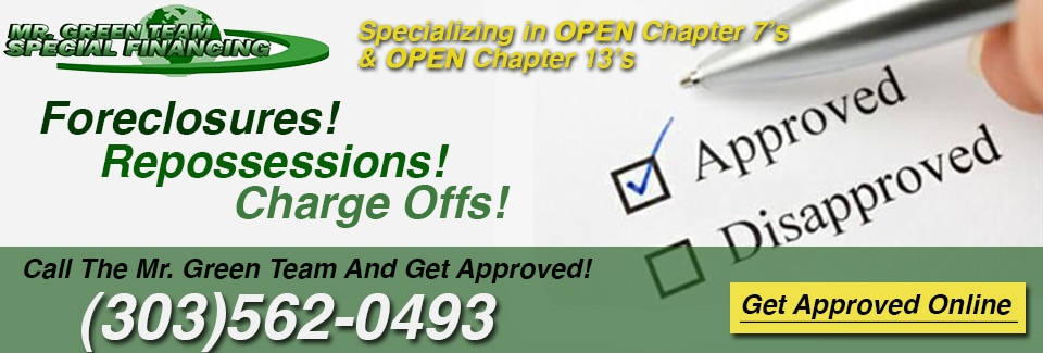 Open chapter 13 auto financing