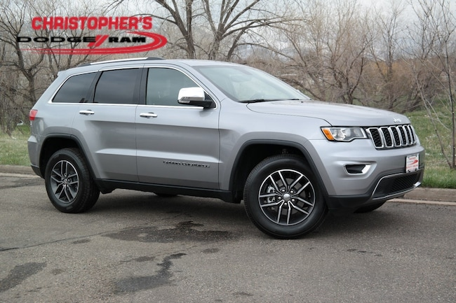 Certified  2018 Jeep Grand Cherokee Limited 4x4 SUV Golden CO