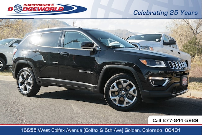 Used 2018 Jeep Compass Limited 4x4 SUV Golden CO