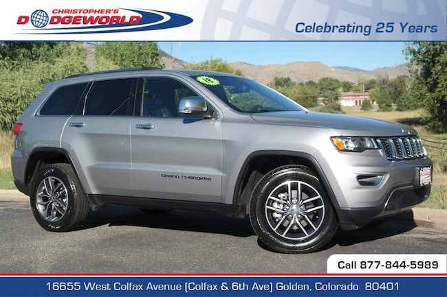 Used 2018 Jeep Grand Cherokee Limited 4x4 SUV Golden CO