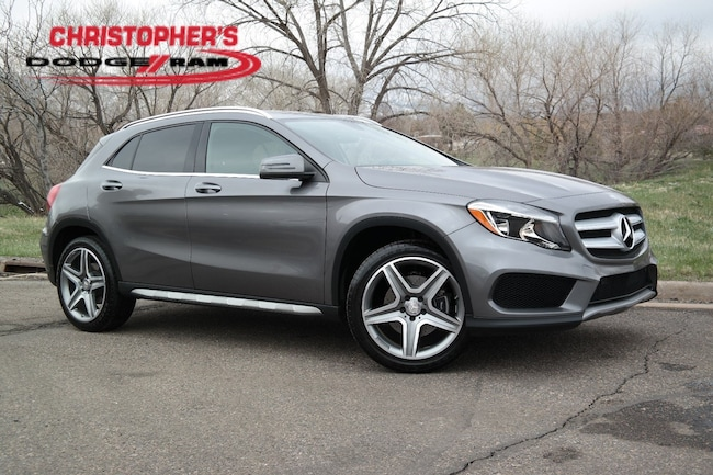 Used 2015 Mercedes-Benz GLA 250 4MATIC SUV Golden CO