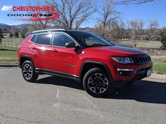 Used 2018 Jeep Compass Trailhawk 4x4 SUV for sale in Golden, CO