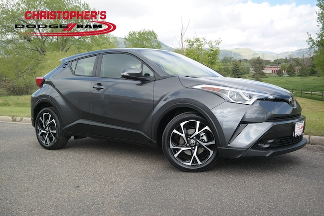 Used 2018 Toyota C-HR XLE SUV Golden CO