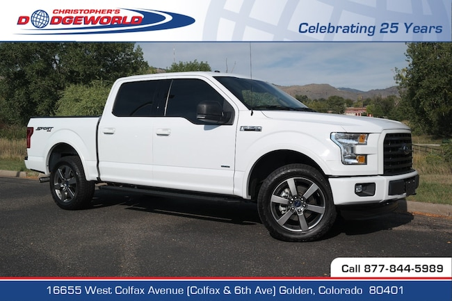 Used 2016 Ford F-150 Truck SuperCrew Cab Golden CO