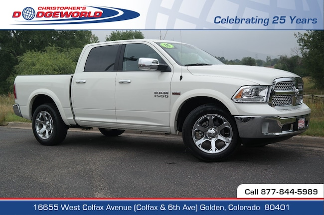 Certified  2018 Ram 1500 Laramie Truck Crew Cab Golden CO