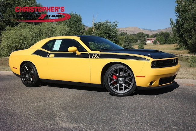 Used 2018 Dodge Challenger R/T Coupe Golden CO