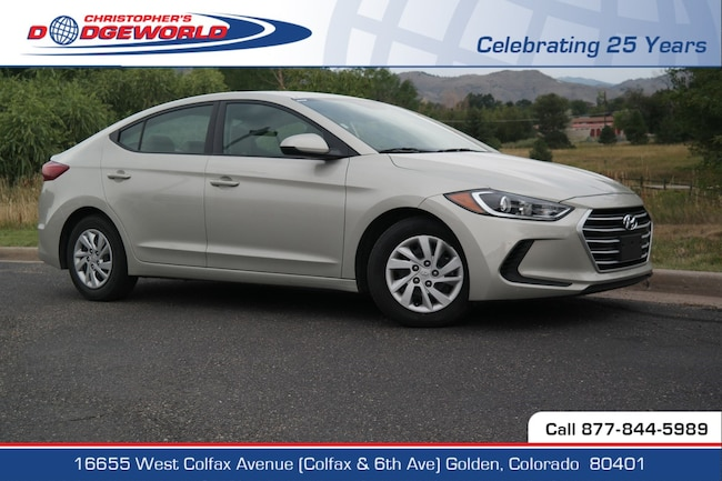 Used 2017 Hyundai Elantra SE Sedan Golden CO