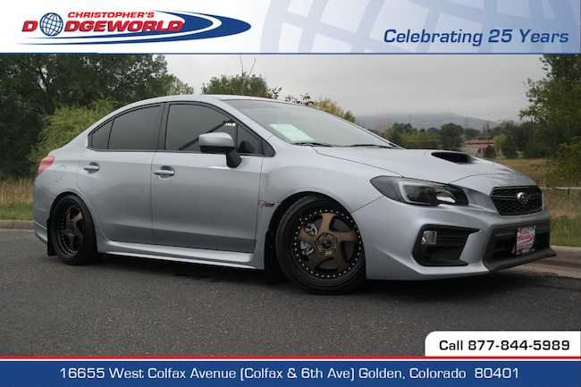 Used 2018 Subaru WRX Sedan Golden CO
