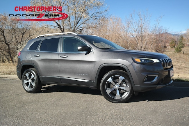Used 2019 Jeep Cherokee Limited 4x4 SUV Golden CO