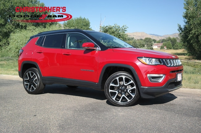 Certified  2018 Jeep Compass Limited 4x4 SUV Golden CO