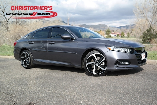 Used 2018 Honda Accord Sport Sedan Golden CO