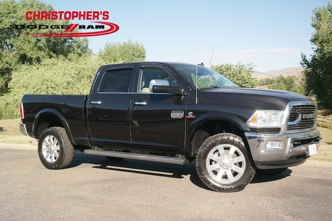 Certified  2018 Ram 2500 Longhorn Truck Crew Cab Golden CO