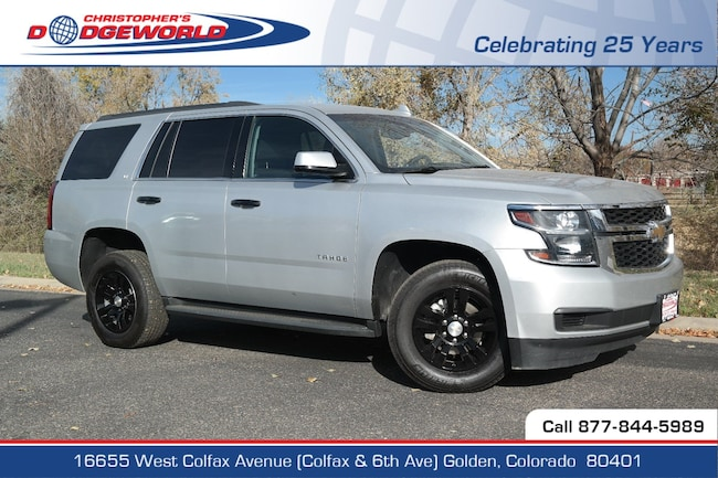 Used 2017 Chevrolet Tahoe LT SUV Golden CO