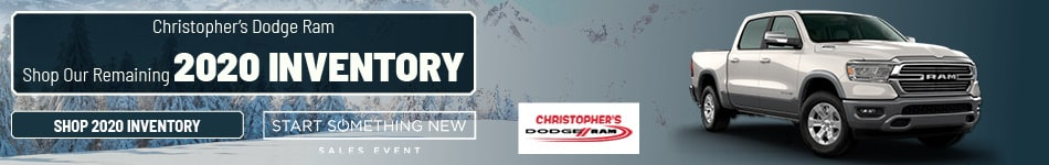 Christopher's Dodge Ram Shop Our Remaining 2020 Inventory