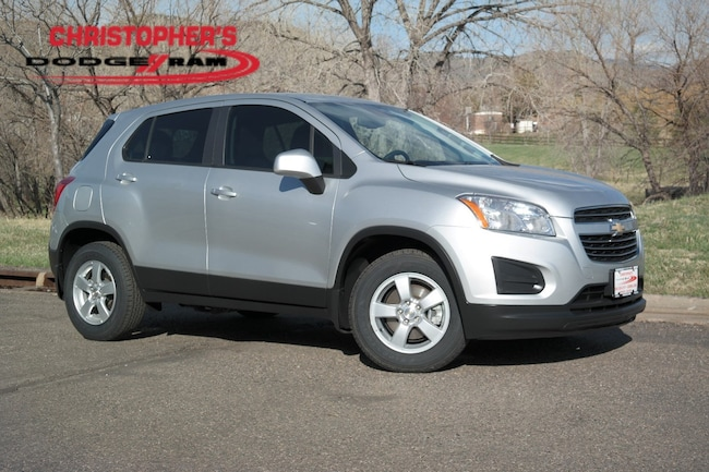 Used 2016 Chevrolet Trax LS SUV Golden CO