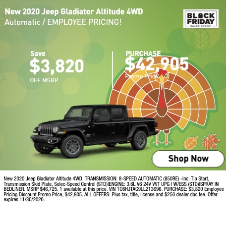 2021 Jeep Gladiator Altitude