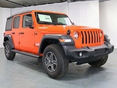 New 2018 Jeep Wrangler UNLIMITED SPORT S 4X4 Sport Utility 1C4HJXDG5JW329176 for Sale in Stroudsburg