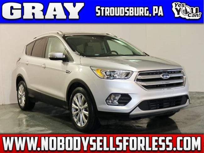 Used 2017 Ford Escape Titanium SUV in Stroudsburg, PA