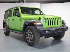New 2018 Jeep Wrangler UNLIMITED SPORT S 4X4 Sport Utility 1C4HJXDGXJW329173 for Sale in Stroudsburg