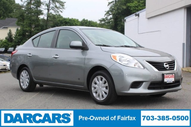 Used 2013 Nissan Versa For Sale at DARCARS Pre-Owned Fairfax