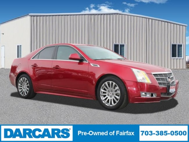 2010 Cadillac CTS Sedan Performance Sedan