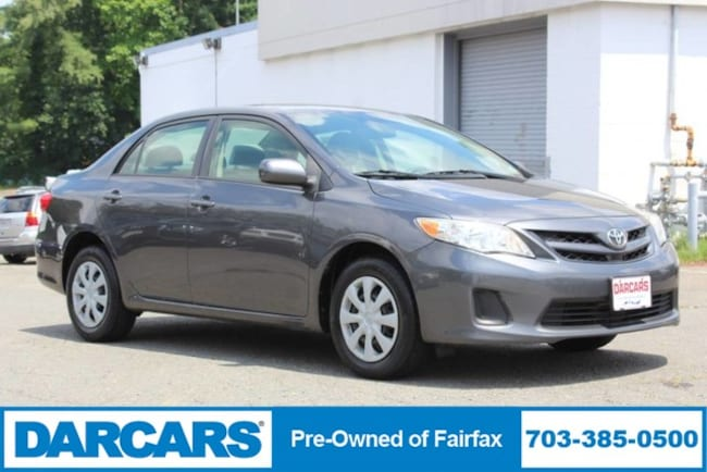 2011 Toyota Corolla For Sale >> Used 2011 Toyota Corolla For Sale At Darcars Pre Owned Fairfax Vin