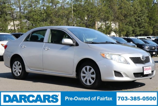 2010 Toyota Corolla For Sale >> Used 2010 Toyota Corolla For Sale At Darcars Pre Owned Fairfax Vin