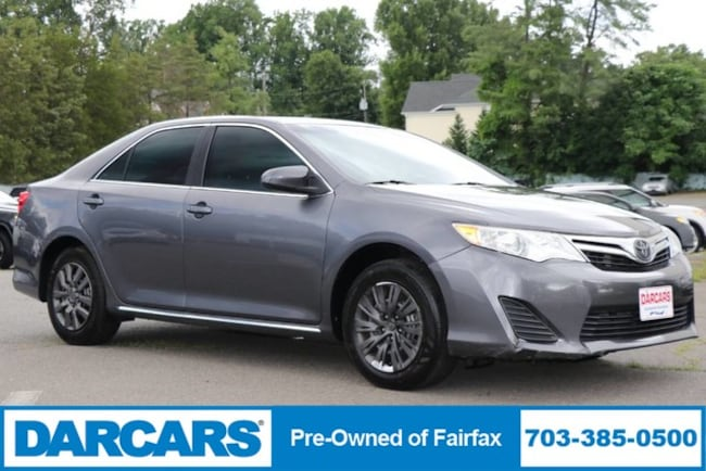 2012 Toyota Camry For Sale >> Used 2012 Toyota Camry For Sale At Darcars Pre Owned Fairfax Vin