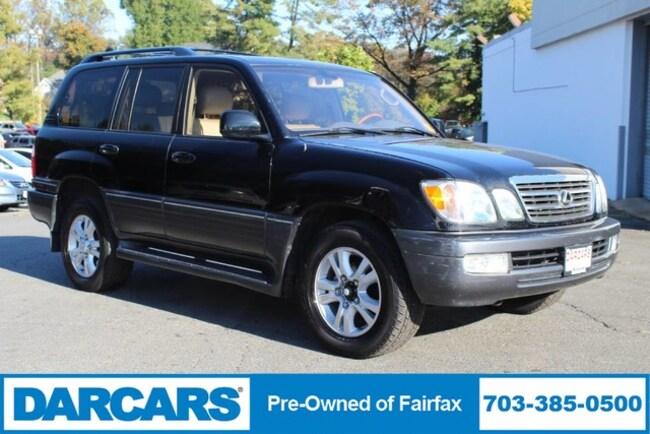 2003 LEXUS LX 470 Navigation SUV