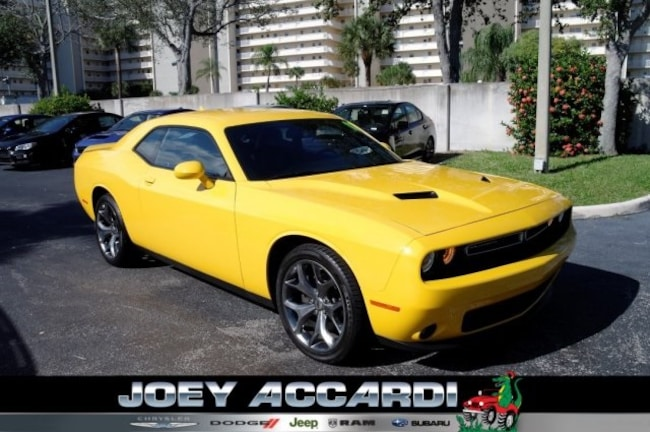 Used 2017 Dodge Challenger SXT Coupe For Sale Pompano Beach