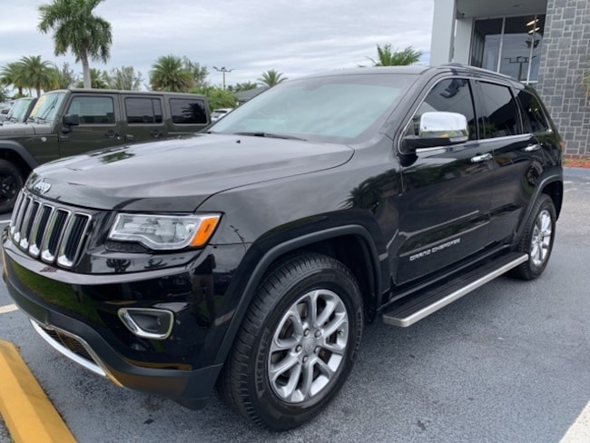 Used 2016 Jeep Grand Cherokee Limited RWD SUV For Sale Pompano Beach